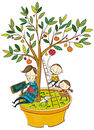 Nützlichkeit des Baumes Standard-Bild - 78835462