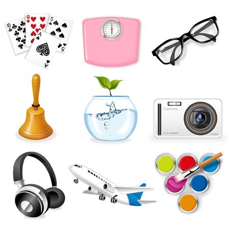 Icon set Banco de Imagens - 78834378