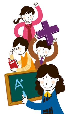 Group of community helper Illustration