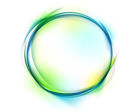 circle shape on white background