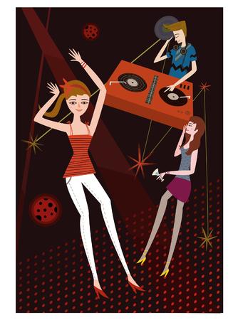 In your twenties, vector illustration. Illustration
