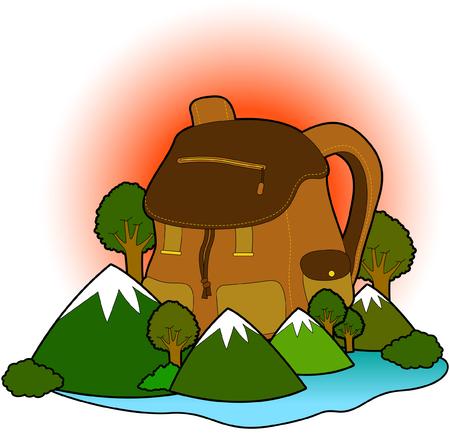 mountaineering: Mountaineering bag