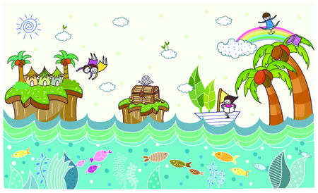 View of under the sea