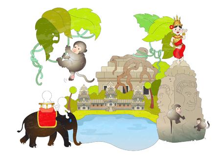 カンボジアの観光スポット