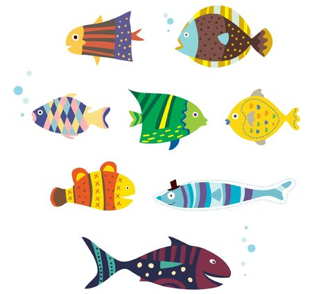 fishes: various fishes