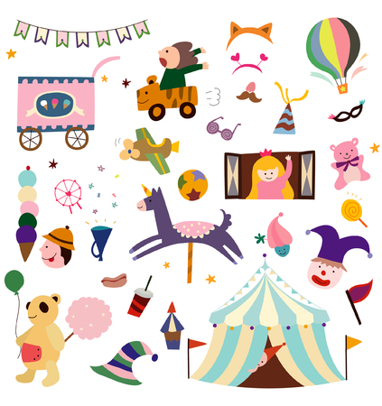 Circus items