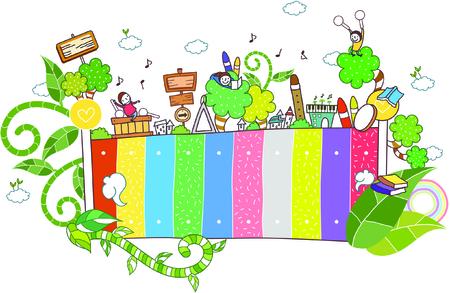 plants and children