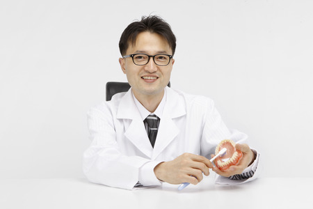 doctor concept- Isolated on studio shot