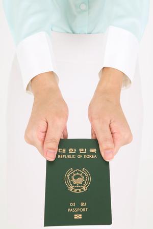 Aziatische vluchtelingen - geïsoleerd op wit