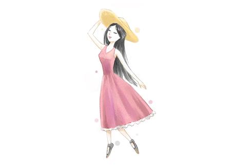 Summer concept vector illustration Illustration