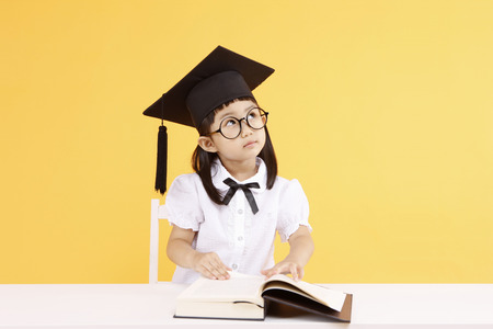 Asian kids with education concept- Isolated on studio shot Stock fotó - 80602846