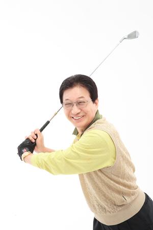 오래 된 아시아 커플 스튜디오 - 화이트 절연
