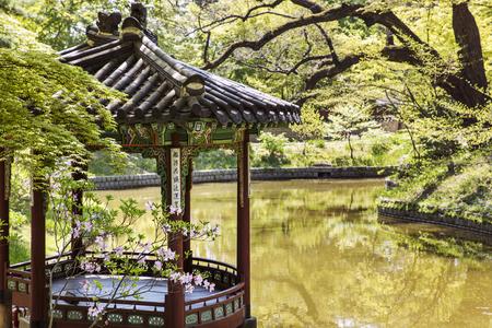 Changdeokgung Palace in Seoul,South Korea