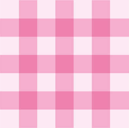 gingham: Pink gingham seamless pattern background