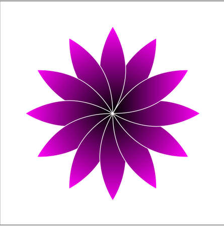 Digital graphic - Pink flower image source