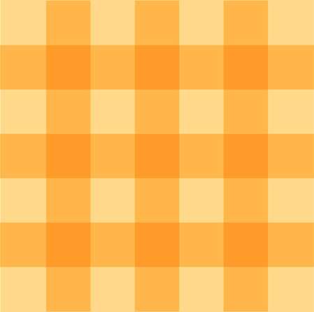 gingham: Yellow gingham seamless pattern background