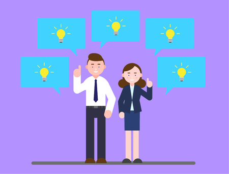 Business illustration - Creative ideas