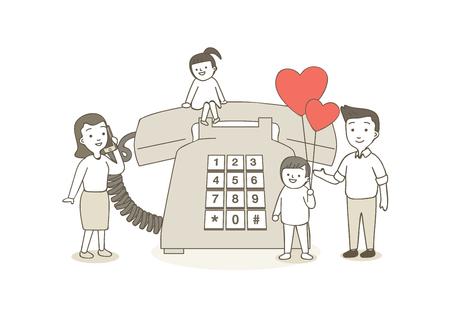 Charity, donation illustration - Fund raising