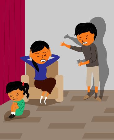 Verschillende soorten geweld - fysiek, huiselijk, familie