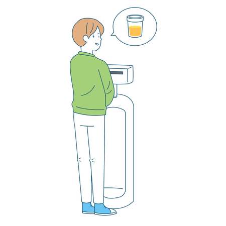 Personal health and hygiene illustration - Urinary disease