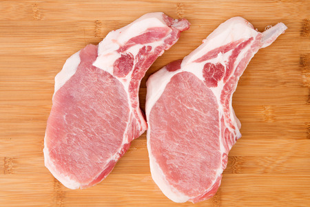 Fresh ingredient studio shot - Pork