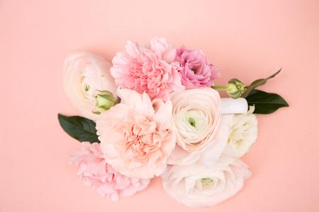 Flower pattern shot in studio/background/wallpaper - Pink flower arrangements