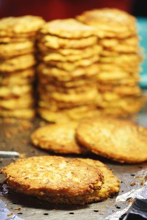 Korean landscape - Korean street food, Korean pancakes