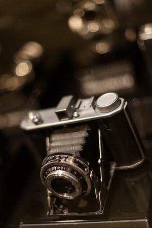 가을 분위기 - 수동 SLR 오래된 클래식 카메라