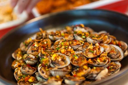한국의 반찬 - 양념 조개 껍질
