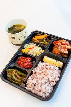 Korean side dishes - a set of meal in box