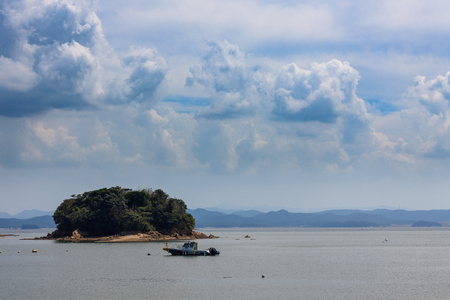 Scenery of the island and inlets
