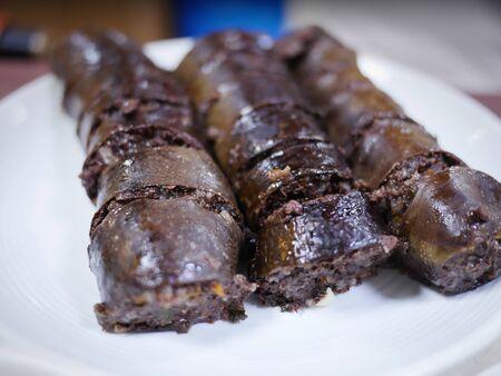 Korean sausage, Sundae 版權商用圖片