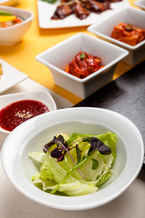 korean salad: Salad and Korean side dish
