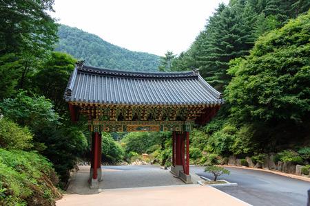 Guryongsa Temple, Gangwon-do, South Korea Stock Photo