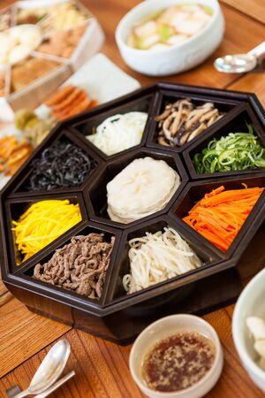 Korean food - Gujeolpan