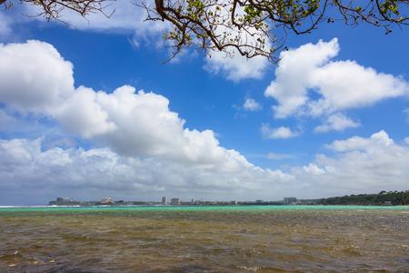 Beautiful beach in Guam