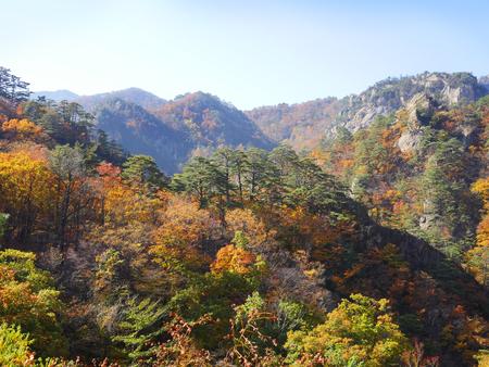 Mt. Seolak, Gangwon-do, South Korea Stock Photo