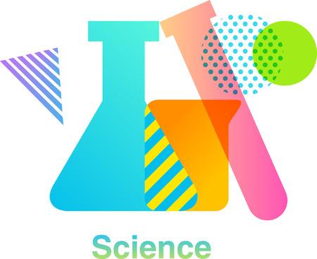 Science colorful  design Çizim