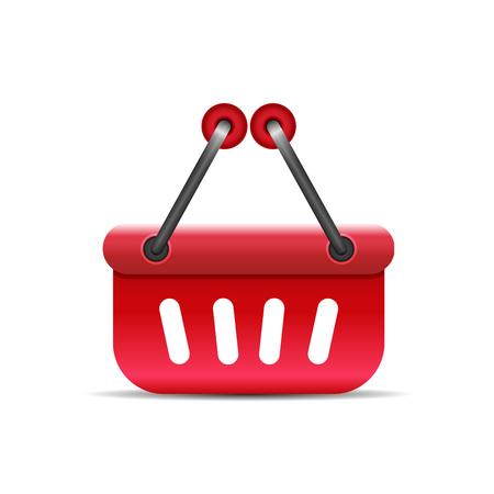Shopping icon - isolated on white