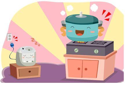 Save energy illustration graphic