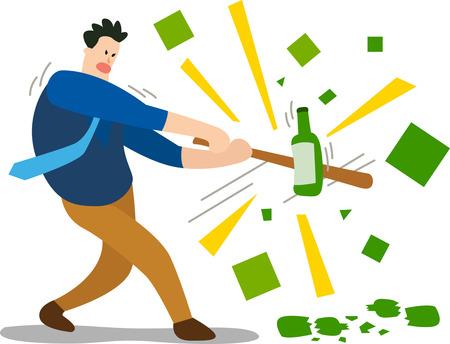 Man renounce drinking