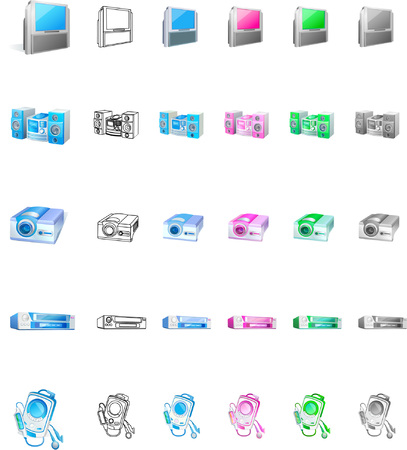 Electronic products collection