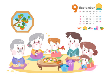 September with Chuseok