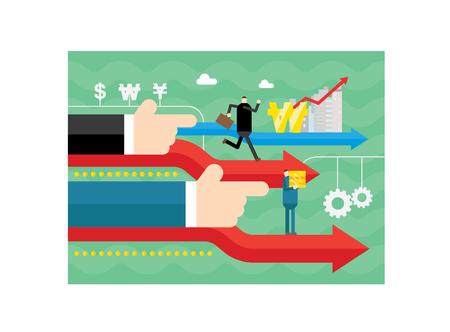 Hand pointing business development