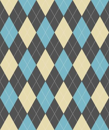 Seamless pattern with dotted line