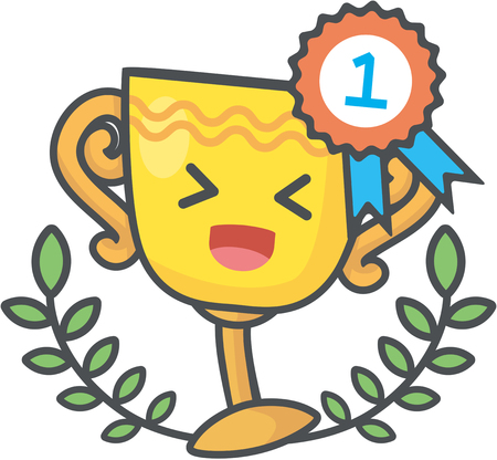The first class Trophy of success