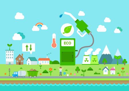 친환경 도시 평면 디자인