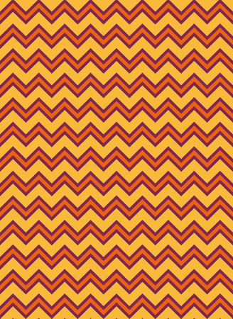 Repeating zigzag pattern