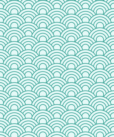 Repeating overlapped round pattern 向量圖像