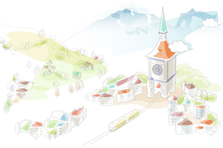A Bern illustration Illustration